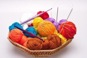 8001444-basket-with-thread-and-balls-for-knitting-as-a-background